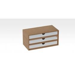 Drawers Module X3 (horizontal)