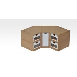 Corner Drawers Module