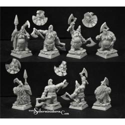 28mm/30mm Wild Warriors Dwarves Set 2 (4)