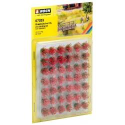 Manojos de Hierba XL Florido Rojo