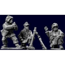 German Mortar Team (4 Pieces)