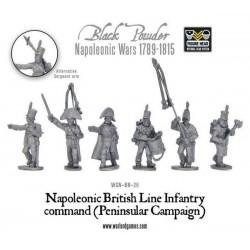 Napoleonic British Line Infantry Command (Peninsular)