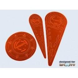 Infinity Templates 'Orange' (3)