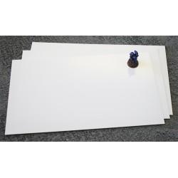 Plancha de PVC 3mm 20x30cm