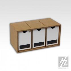 Drawers Module x 3 (vertical)