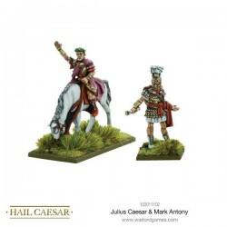 Julius Caesar & Mark Antony