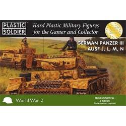 15mm German Panzer III Ausf J, L, M, N