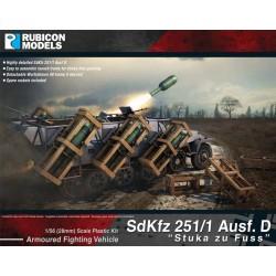 SdKfz 251/1 D Halftrack Stuka Zu Fuss