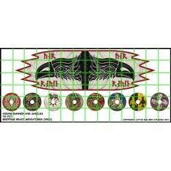 Viking Banner & Shield Transfers