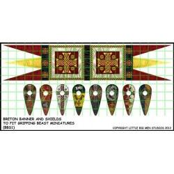 Breton Banner & Shield Transfers