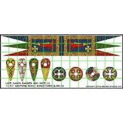 Anglo Dane Banner & Shield Transfers