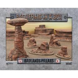 Badland's Pillars