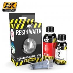 Resin Water 2-Components Epoxy Resin - 375ml (Enamel)