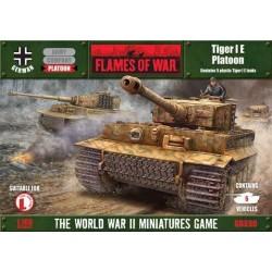 Tiger I E Platoon (5) Plastic