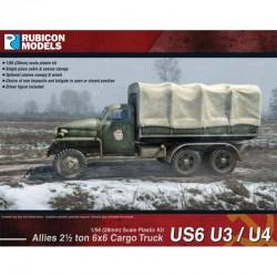 Allies US6 U3/U4 6x6 Cargo Truck