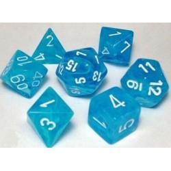 Cirrus Polyhedral Ligh Blue/white 7-Die Set