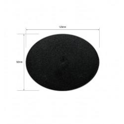 Peana Ovalada con anclaje para 3 Imánes Plástico 120x92mm (1)
