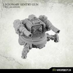 Legionary sentry gun Twin Lascannon