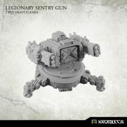 Legionary sentry gun Twin Heavy Flamer