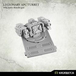 Legionary APC turret Twin Heavy Thunder Gun