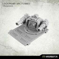 Legionary APC turret Twin Lascannon