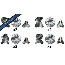 Smoke Bombardment Markers (4)