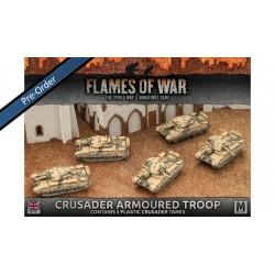 Desert Rats Crusader Armoured Troop (5) Plastic