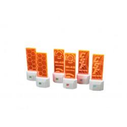 District 5 Small Holoads Orange