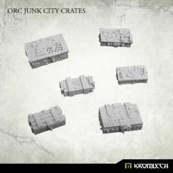 Orc Junk City Crates (6)
