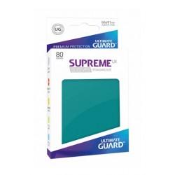 Supreme Ux Sleeves Fundas De Cartas Tamaño Estándar Gasolina Azul (80)