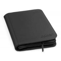 4-Pocket ZipFolio XenoSkin Carpeta para Cartas Negro