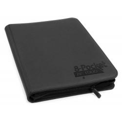 8-Pocket ZipFolio XenoSkin Carpeta para Cartas Negro