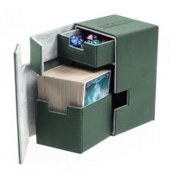 Flip'n'Tray Deck Case 100+ Caja de Cartas Tamaño Estándar XenoSkin Verde