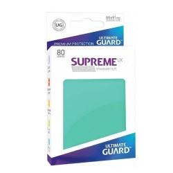 Supreme UX Sleeves Fundas de Cartas Tamaño Estándar Turquesa (80)