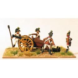 Austrian Artillery Firing 6pdr
