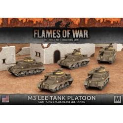 M3 Lee Tank Platoon (5x Plastic)