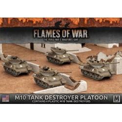 M10 3-Inch Tank Destroyer Platoon (4x Plastic)