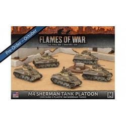 M4 Sherman Tank Platoon (5x Plastic)