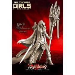 Zaraya, Pilgrim Priestess (Fantasy)