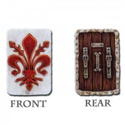 Florentine Pavese Shields (12 shields)