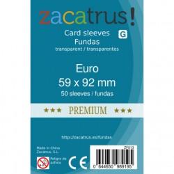 Fundas Euro Premium - 59x92mm (50)