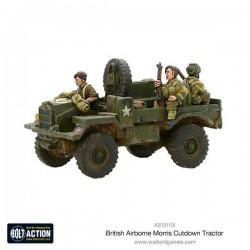 British Airborne Morris 15cwt Truck Cut Down