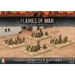 Italian Cannon Battery (Plastic, x4 100/17)