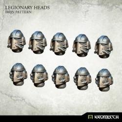 Legionary Heads: Iron Pattern (10)
