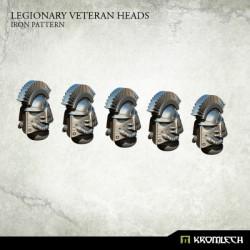 Legionary Veteran Heads: Iron Pattern (5)