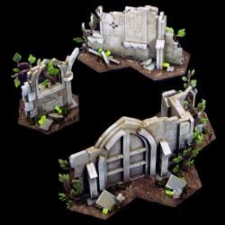 Obstáculos Shadespire Warhammer Underworlds