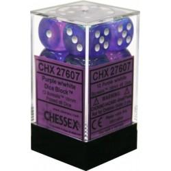 Borealis Purple w/white 16mm