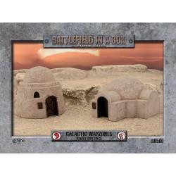 Galactic Warzones - Desert Buildings (Prepintado)