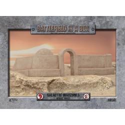 Galactic Warzones - Desert Walls (Prepintado)