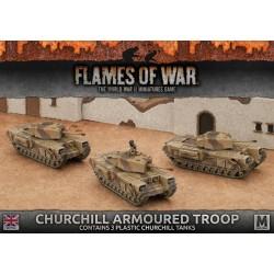 Churchill Armoured Troop (Plastic)